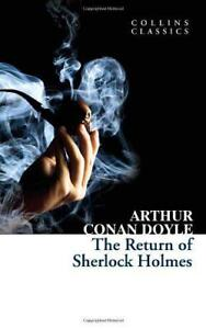 The-Return-of-Sherlock-Holmes-Collins-Classics-por-CONAN-DOYLE-ARTHUR-Rustica