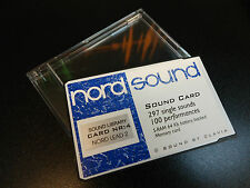 NORD PCMCIA 4 EXPANSION DATA SOUND CARD STORAGE FOR LEAD 1/2/RACK SYNTHESIZER
