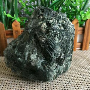 1390g Natural green Tourmaline Crystal Stone Gem Original Specimen gg