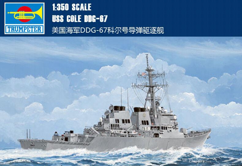 USS COLE DDG-67 1 350 ship Trumpeter model kit 04524