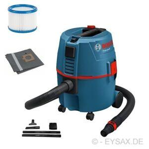 Bosch Professional Nass-Trocken-Sauger GAS 20 L SFC Allzwecksauger inkl. Zubehör