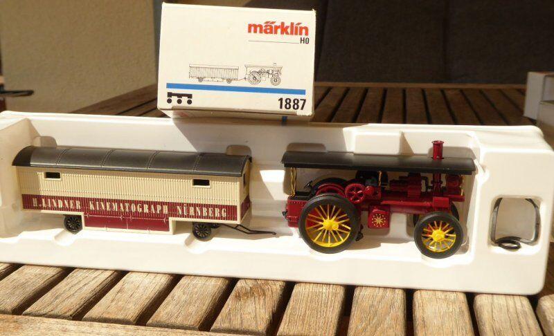 Märklin 1887 Kirmeslokomobile Kirmeslokomobile Kirmeslokomobile with Cinema Carnies Trailer Nϋrnberg Ep.1 2 6c56c5