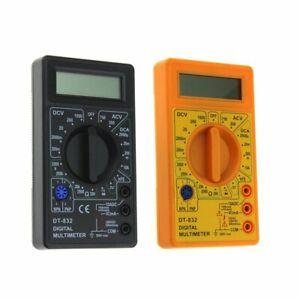 DT-832-Mini-Digital-Multimeter-AC-DC-Volt-Amp-Ohm-Diode-hFE-Continuity-Tester-WP