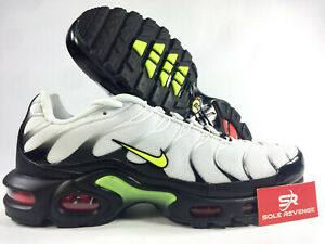 Details about New Nike Air Max Plus WhiteVoltBlack J2013100 | SE Throwback Future c1