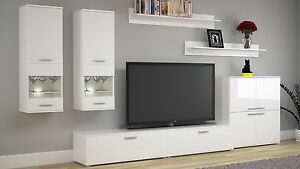 Das Bild Wird Geladen Wohnzimmer Set Wohnwand Set TV Wand COSMO Fronten