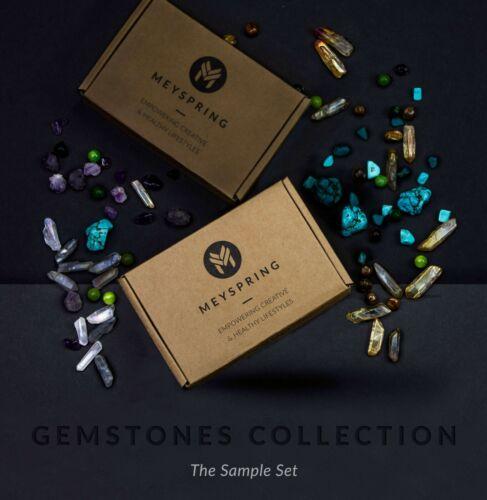 Epoxy Resin Color Pigments MEYSPRING Gemstones Collection Mica Powder Set