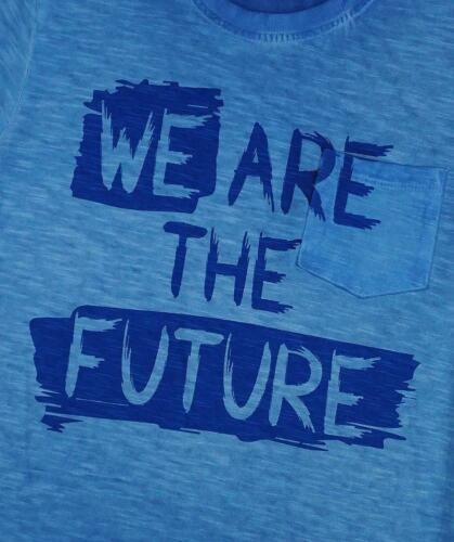 Garçons T-shirt We Are the Future Tee Summer Fashion Coton Top 3 To 9 ans
