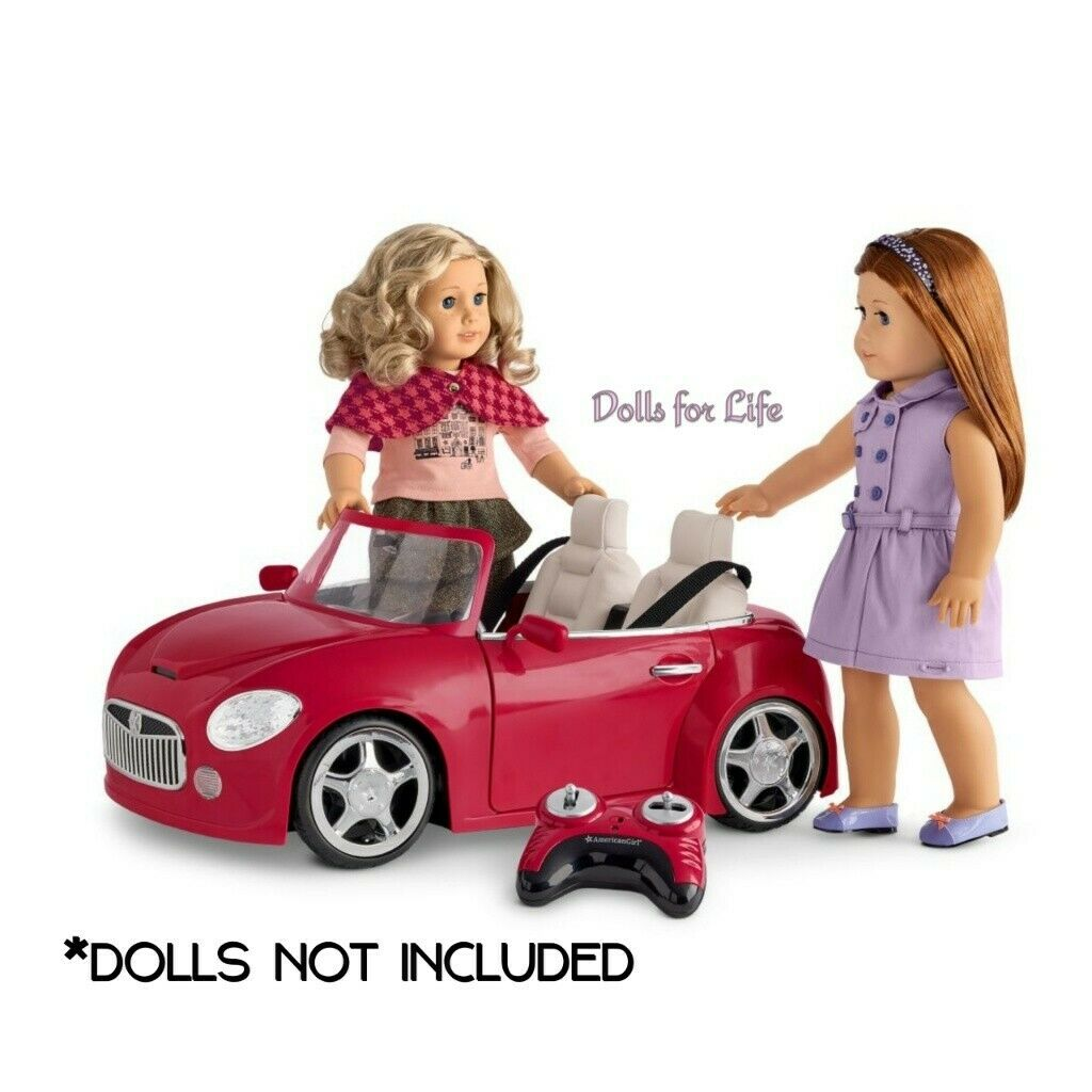 American Girl RC rot Sports Car NEW IN BOX