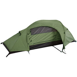 Mil-Tec Recom 1 Man One Person Waterproof Camping Military ...