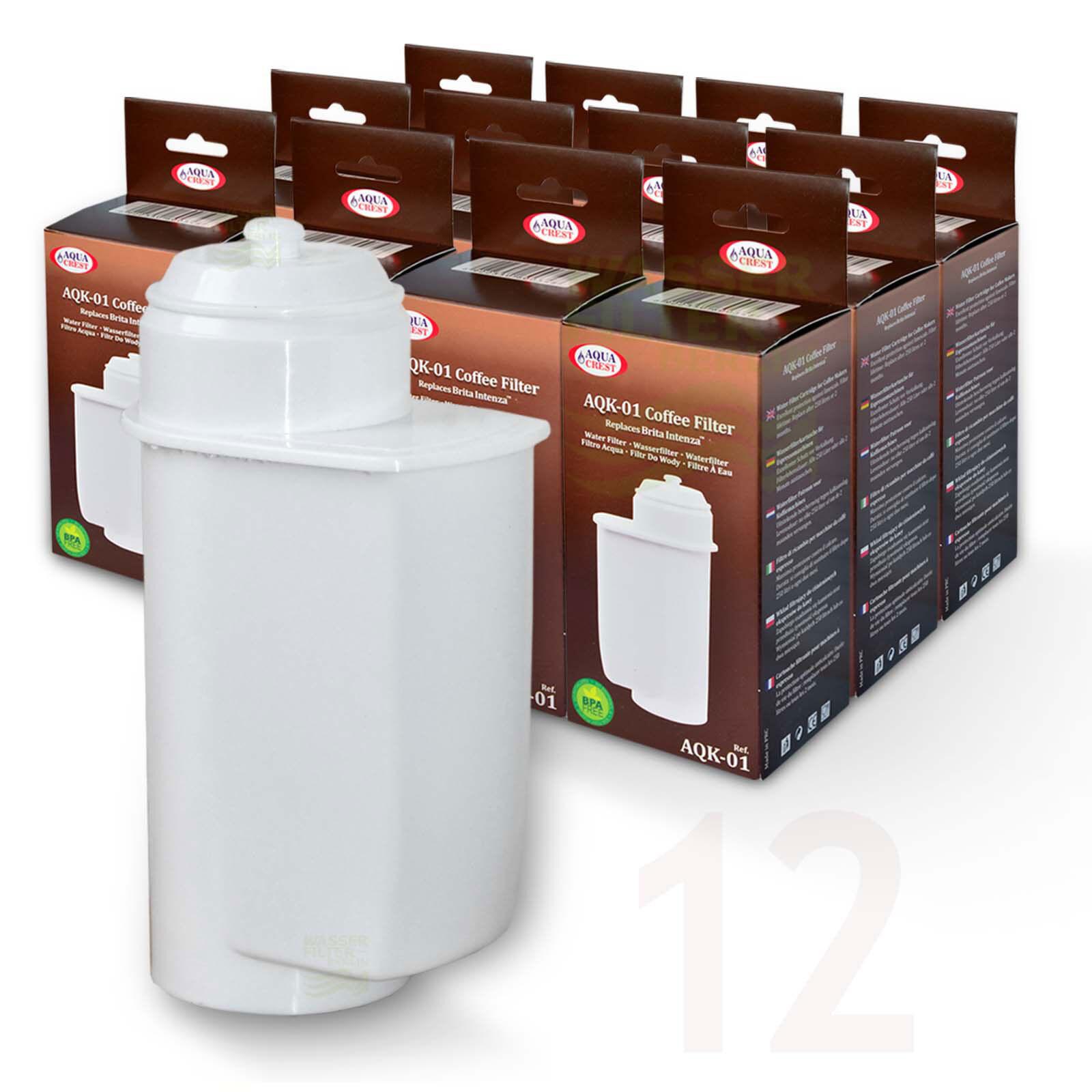 12x Brita Intenza compatibles filtre à eau pour Gaggenau  cm250, Neff, Siemens