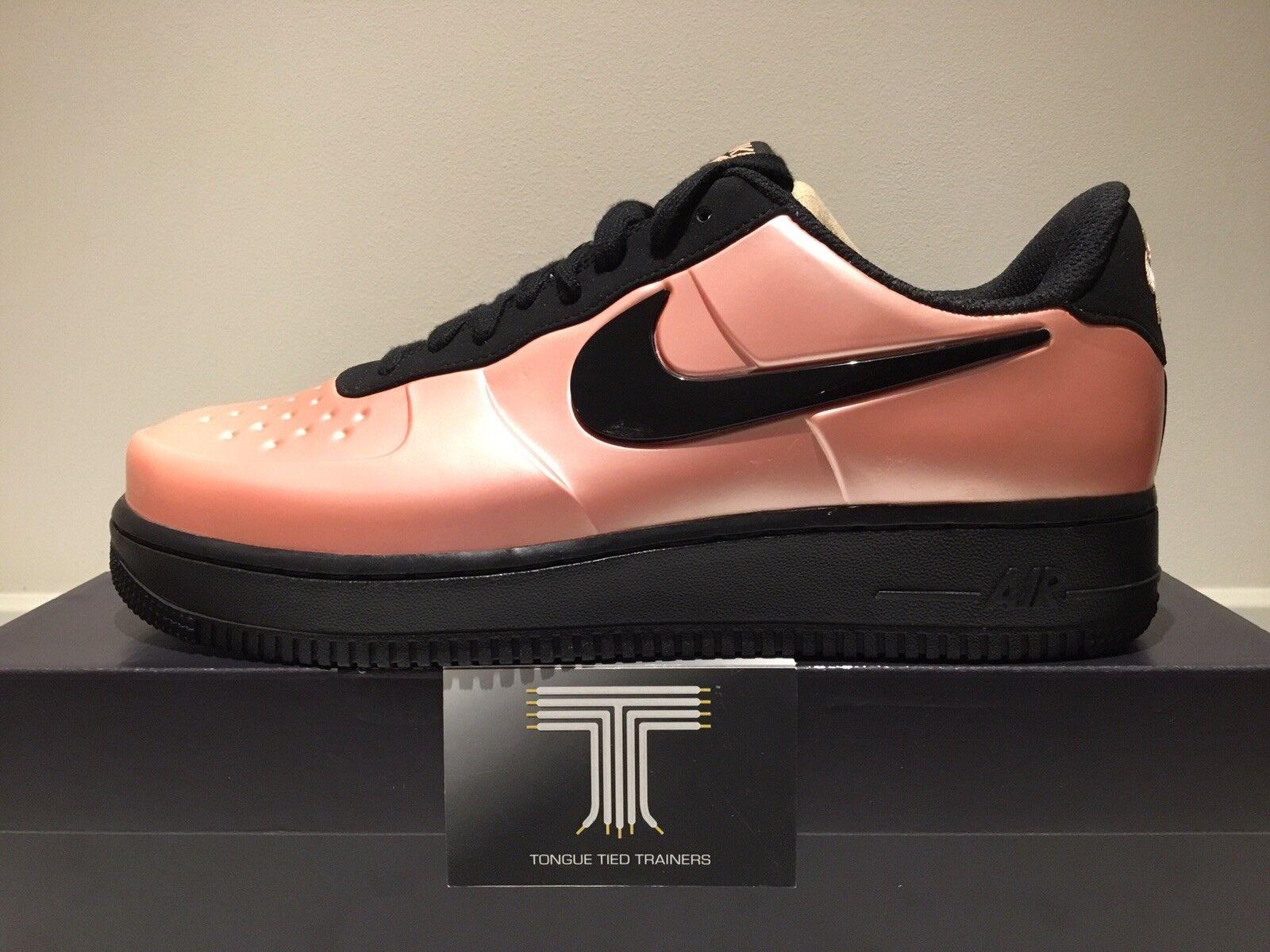 Nike AF1 Air Force 1 Foamposite Pro Cup Coral Coral Coral Stardust  AJ3664 600  Uk Größe 10 7c6473