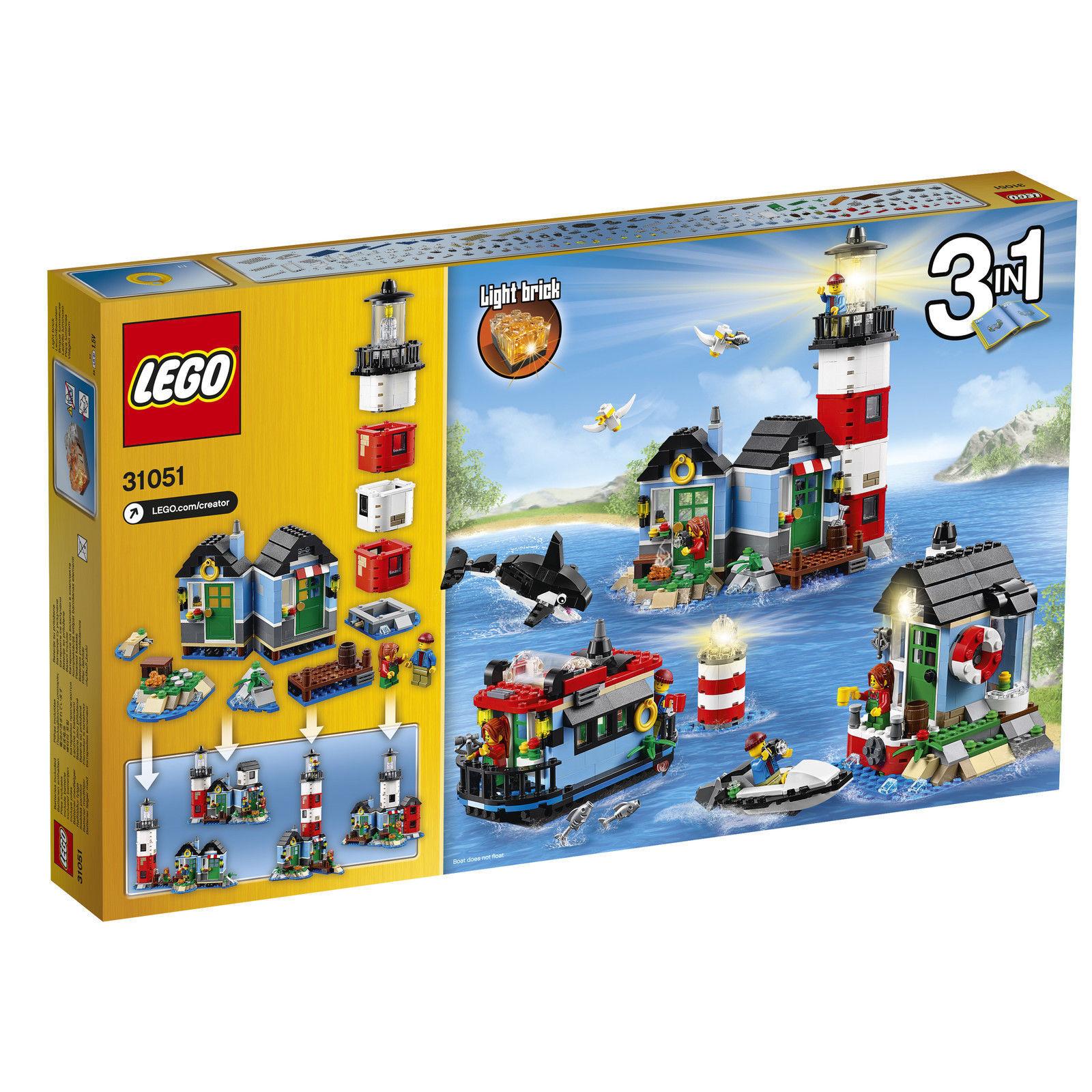 Creator Neuf Phare Boîte Sa Lego Nouveau Dans ® Île 31051 H29YEDWI