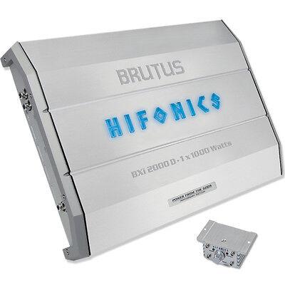HIFONICS BRUTUS B3 BXi-2000D Mono Verstärker BXi 2000 D Endstufe Monoblock