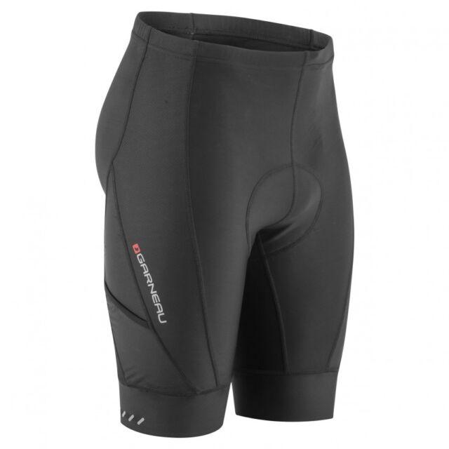 Louis Garneau Men s Optimum Bike Shorts Black Large for sale online ... 9889ac33d