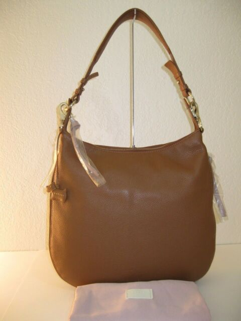 cf3c0284ec94 Radley London Pudding Lane Zip-top Tan Brown Leather Large Hobo Bag ...