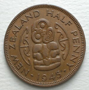1945-New-Zealand-Half-Penny-George-VI