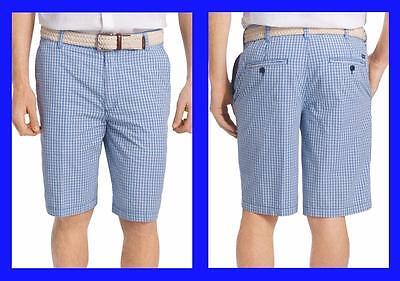 Lands/' End ~ Tartan Poplin Men/'s Shorts $40 NIP