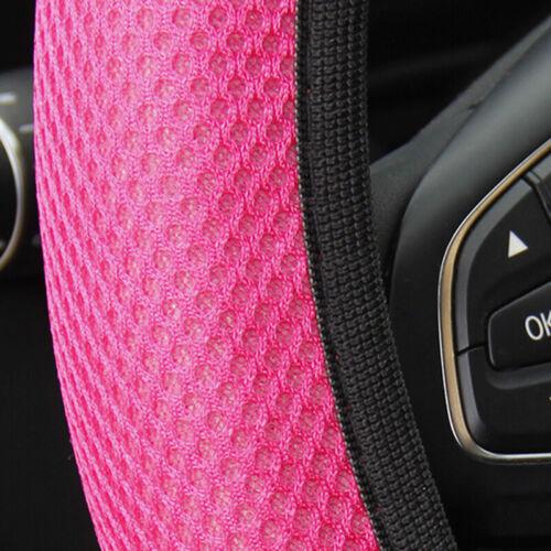 Universal Auto Car Steering Wheel Cover 3D Mesh Anti-Slip Breathable Decora TDUK