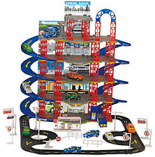 108pc Multi Storey City Car Park Auto Parking Garage Cars Truck Play Set Toy