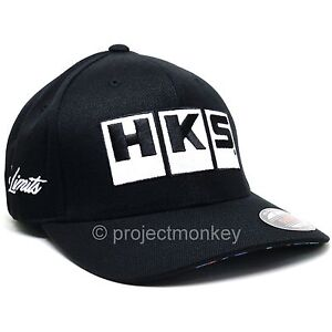 HKS-Logo-No-Limits-Embroidered-Hat-Cap-Splash-S-M-M-XL-Genuine-Authentic