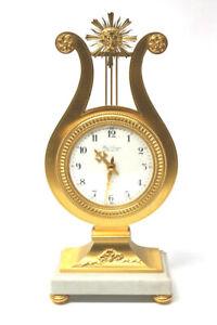 Französische Hour Lavigne Kaminuhr im Louis XV Stil