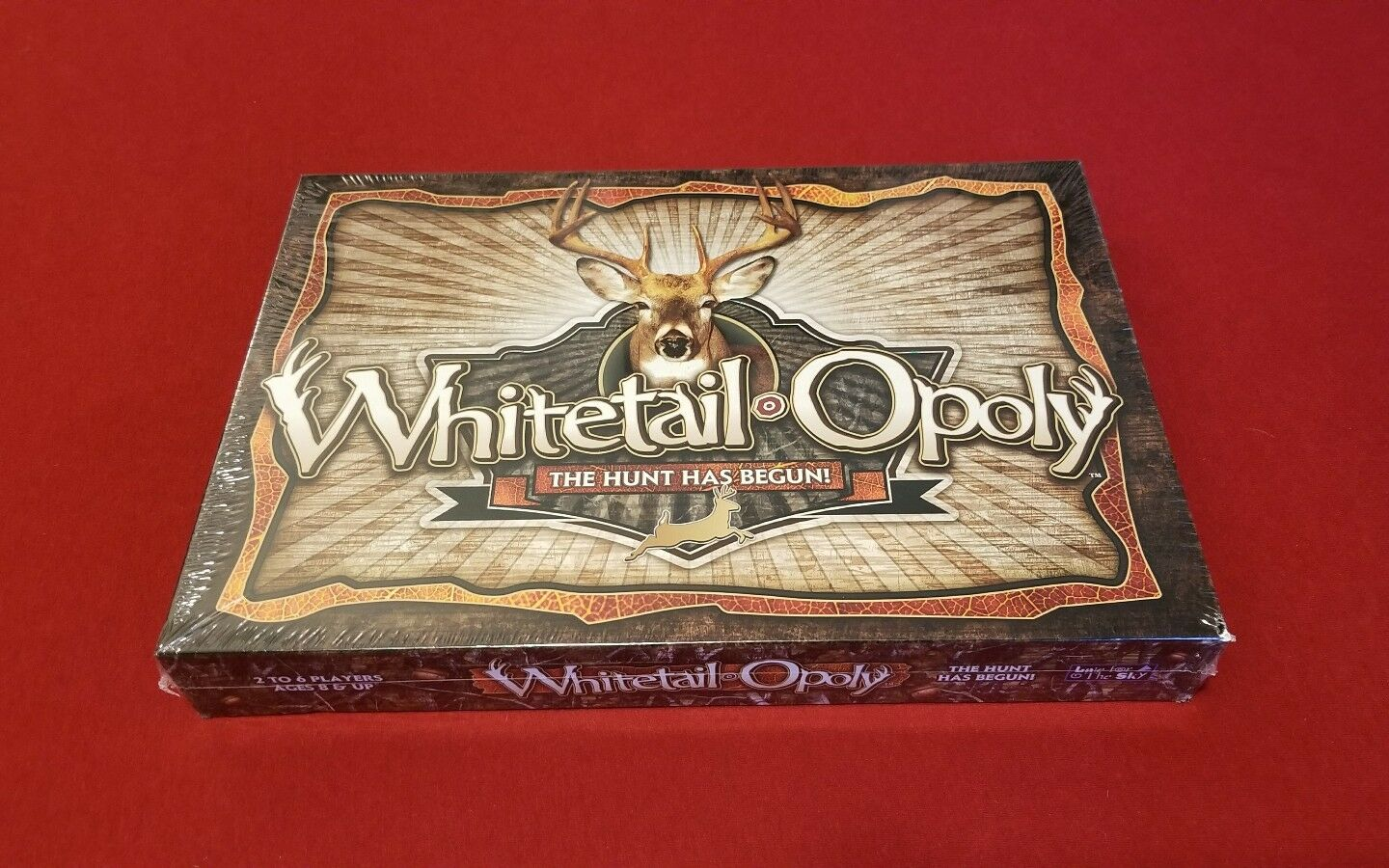 NEW FACTORY SEALED WHITETAILOPOLY THE HUNT HAS BEGUN BOARD GAME