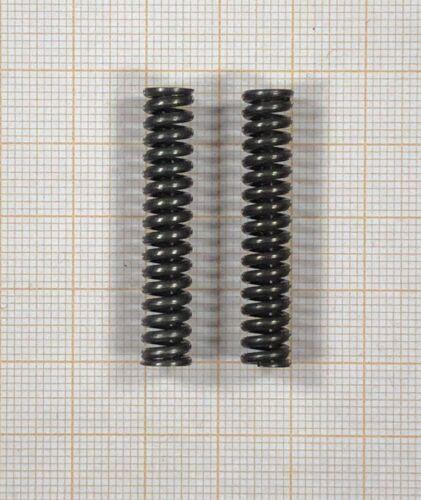 2 x Druckfeder Außen Ø7mm Länge 37mm 344 Draht Ø1,4mm
