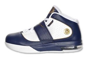 Rare-Hard-To-Find-Nike-Zoom-Soldier-IV-BLUE-gold-white-Shoes-Sz-15-407707-401