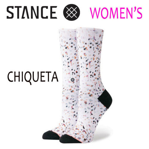 Stance Socks Chiqueta Woman New Light Cushion Crew Height Supima Cotton