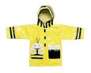 dfcdb530f Promo Kidorable Kids Bumble Bee Raincoat Coat Childrens Rain Mac ...