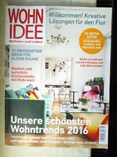 Wohnen Und Leben Zeitschrift wohnidee wohnen und leben ausgabe 8 2015 ebay