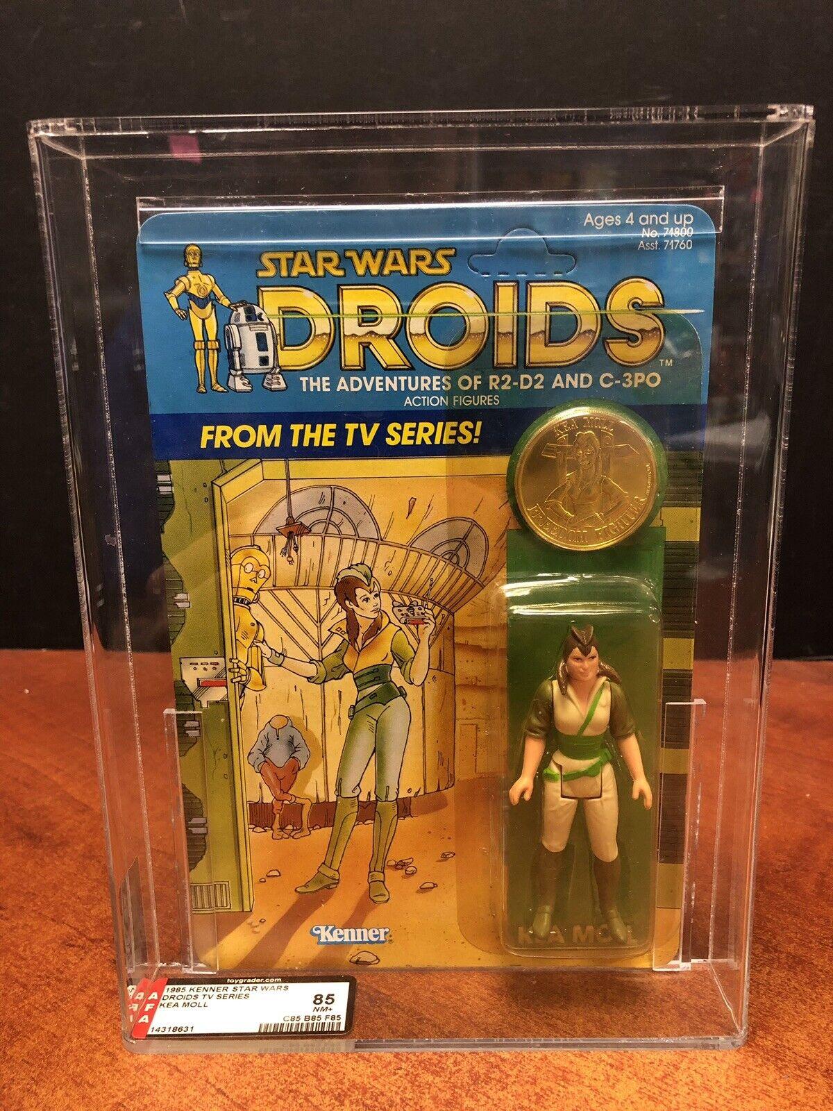 1985 Star Wars Droids TV Series Kea Moll AFA 85 EMF3815