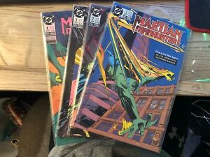 Martian-MANHUNTER-1-4-COMIC-LOT-DC-COMICS-1988