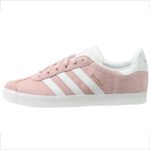 d97296d90810b9 Adidas Gazelle 2 Girls Big Kids BY9544 Icey Pink Suede Athletic ...