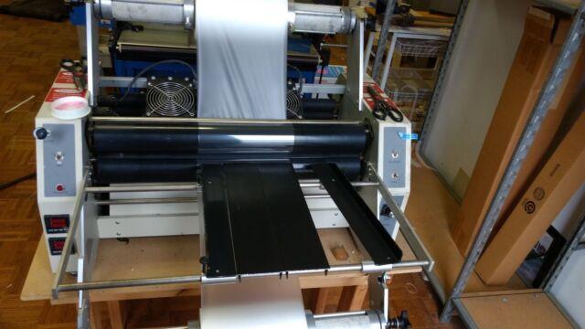 Ledco Workhorse HD-25 25  Laminator (White) & LEDCO Hd-25 Workhorse Industrial Laminator With GBC Film Laminate ...