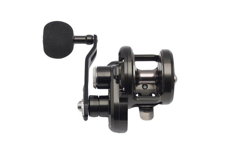 POSEIDON 200 R L MINI LITE Jigging REEL Left Handle Handle Handle 20kg Drag Fishing Reel c527b3