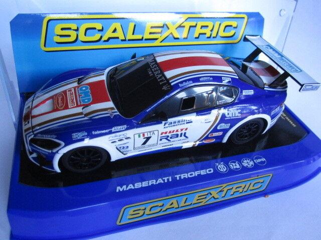 Scalextric Maserati Trofeo, C3380. 1 32 scale slot car. New.