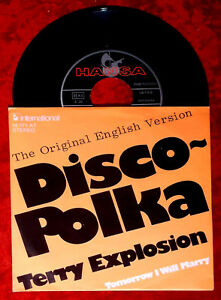 Single Terry Explosion: Disco Polka (Hansa 16 771 AT) D