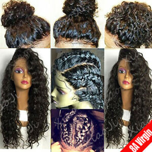 glueless lace front wig brazilian human hair body wave