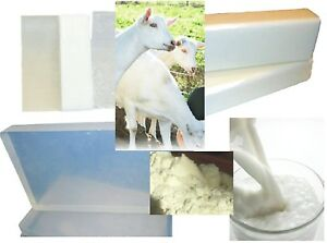 1 kg GOATS MILK MELT and POUR SOAP BASE MP: FREE Shipping: Low Sweat, Palm Free