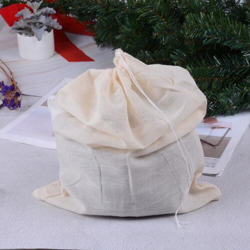 Reusable Nut Almond Milk Strainer Bag Tea Coffee juices Filter Strainer Bag SP