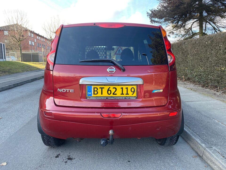 Nissan, Note, 1,5 dCi 90 Tekna Van