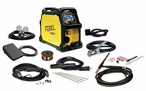 ESAB Rebel EMP 205ic AC/DC Multi-Process MIG/STICK/TIG Welder. Available Now for 1999.00