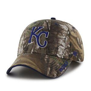 promo code d19db 9955f Image is loading Kansas-City-Royals-039-47-Brand-MVP-RealTree-