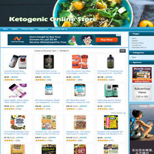 Ketogenic Diet Store Amazon Clickbank Product Online Business Website For Sale