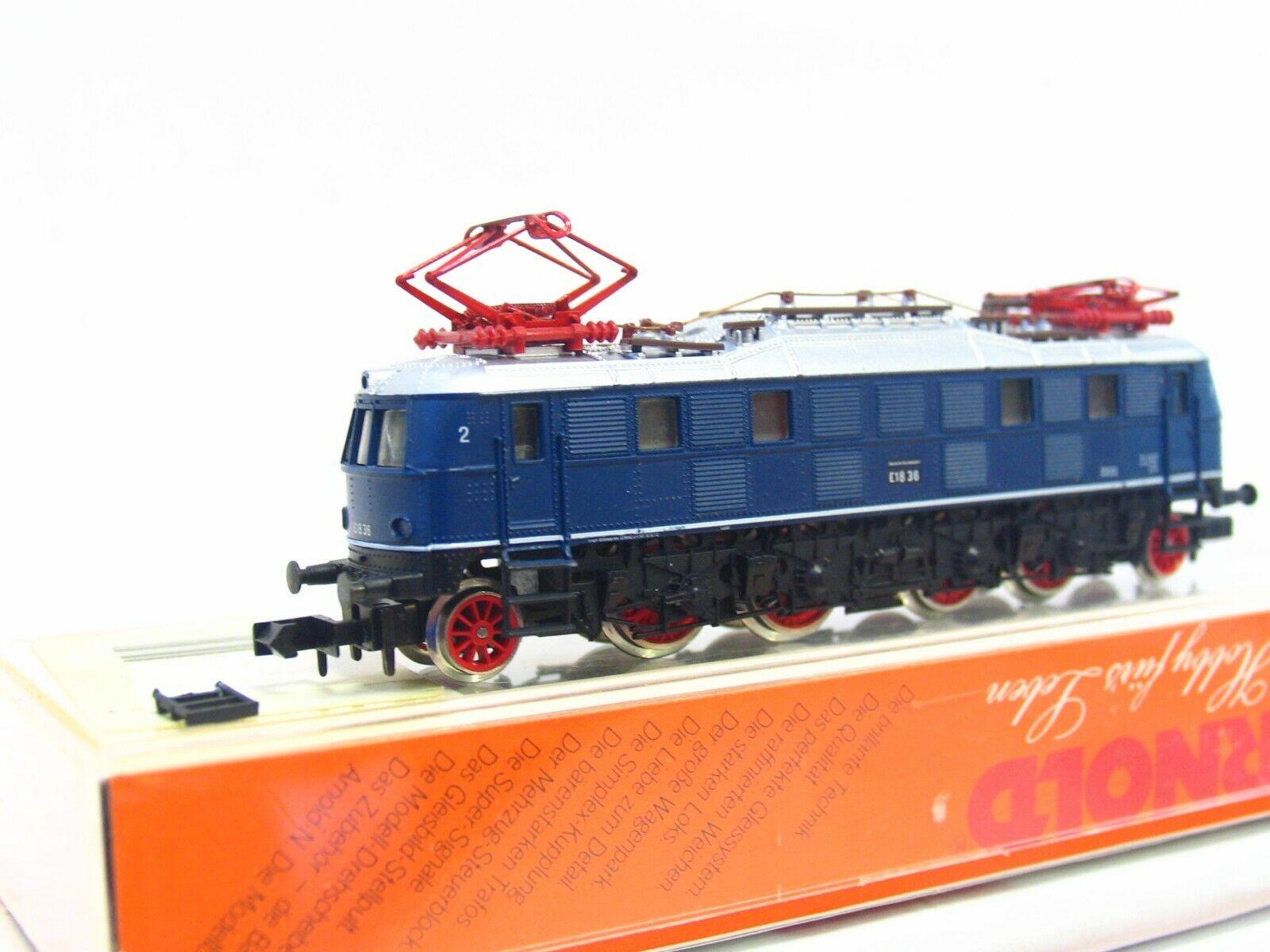 Arnold N 2447 E-Lok BR E18 36 DB OVP (RB7804)