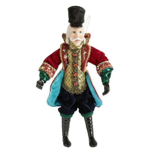 Christmas Scrooge Poseable Ornament Figure 14-Inch