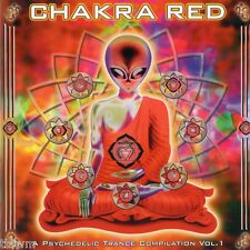 Chakra Red A Psychedelic Trance Compilation Vol 1 - CD - GOA TRANCE - TBFWM