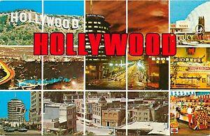 Hollywood-Glamour-Capital-of-the-World-CA-California-Postcard