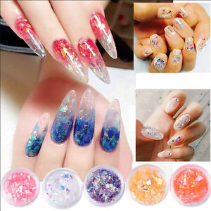 Image Is Loading Nail Sequins Candy Gl Paper Art Glitter